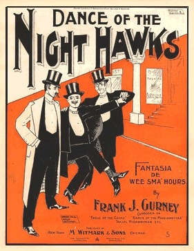 Dance of the Nighthawks by Gurney