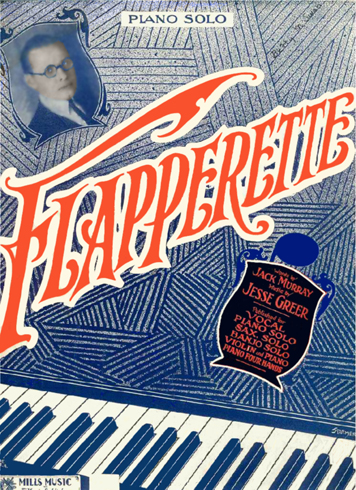 Flapperette Sheet Music Cover