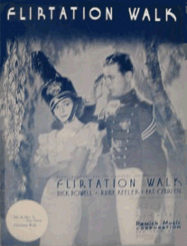 Flirtation Walk Sheet Music Cover