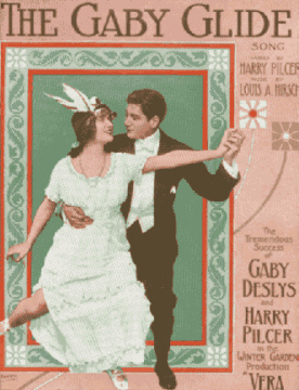 The Gaby Glide Sheet Music Cover