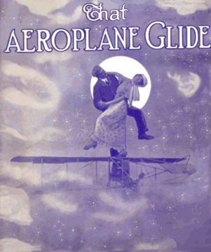 That Aeroplane Glide Sheet Music Cover