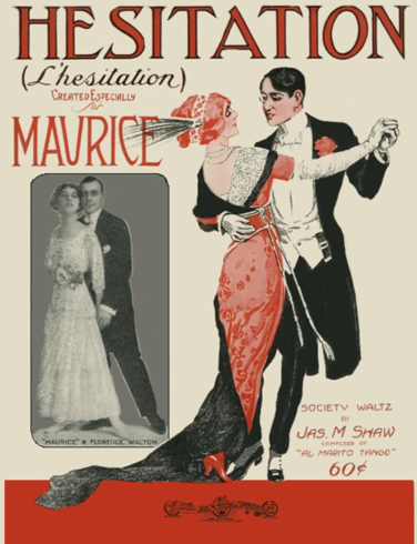 L' Hesitation Sheet Music Cover