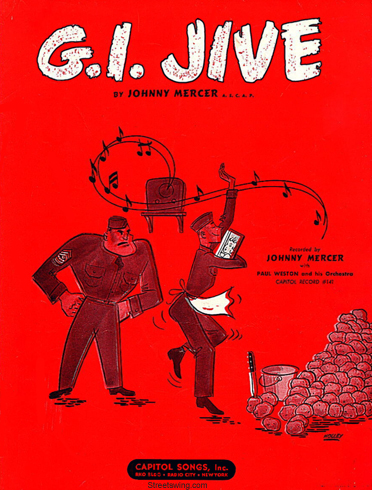 G.I. Jive Sheet Music Cover