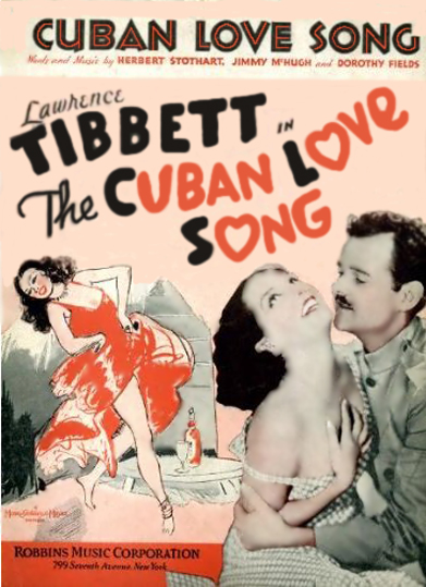 Cuban Love Song Sheet Music Cover