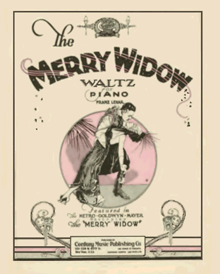 Merry Widow Waltz Sheet Music Cover