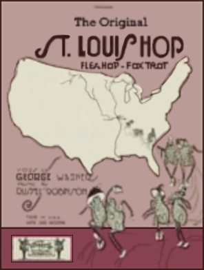 The Original St. Louis Hop Sheet Music Cover