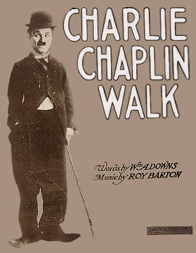 Charlie Chaplin Walk, Sheet Music Cover