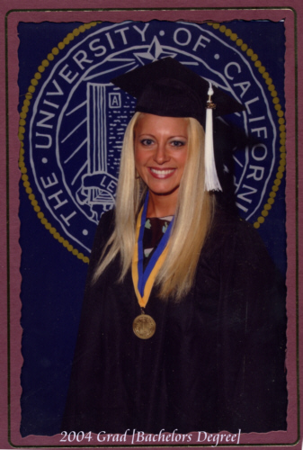 Graduation Day UC Irvine ... Deanna Mollmann ... Bachelors Degree