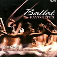 Ballet Favorites by Cinncinati Pops CD
