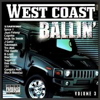 West Coast Ballin' CD Cover