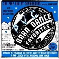 Barn Dance Favorites by the Pine Valley Cosmonaughts CD Album Cover