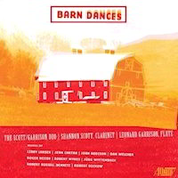 Barn Dances by the Scott Garrison Duo CD Album Cover