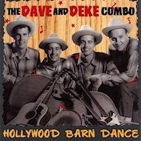 Hollywood Barn Dance Album Cover by the Dave and Deke Combo