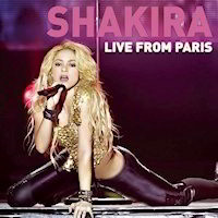 Shakira - Live From Paris Sexy CD Cover