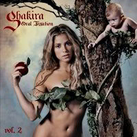 Oral Fixation CD Cover by Shakira