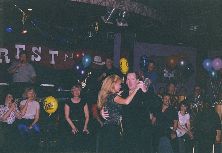Sonny and Deanna, circa late 90's