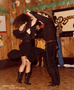 Country Two-Step contest, circa 1983
