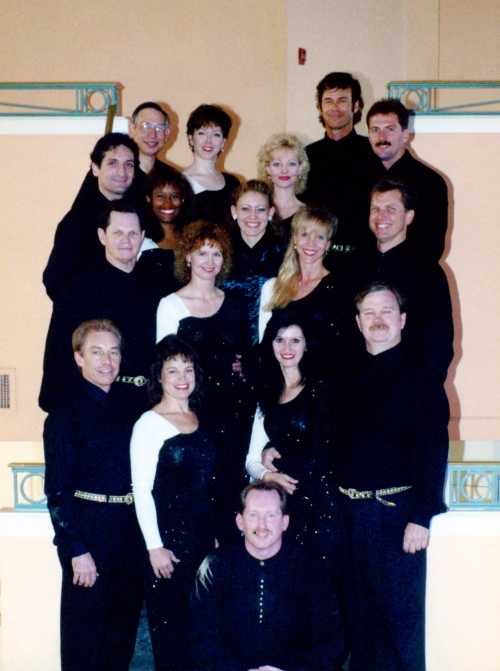 Swingshift Dance team, circa 1996