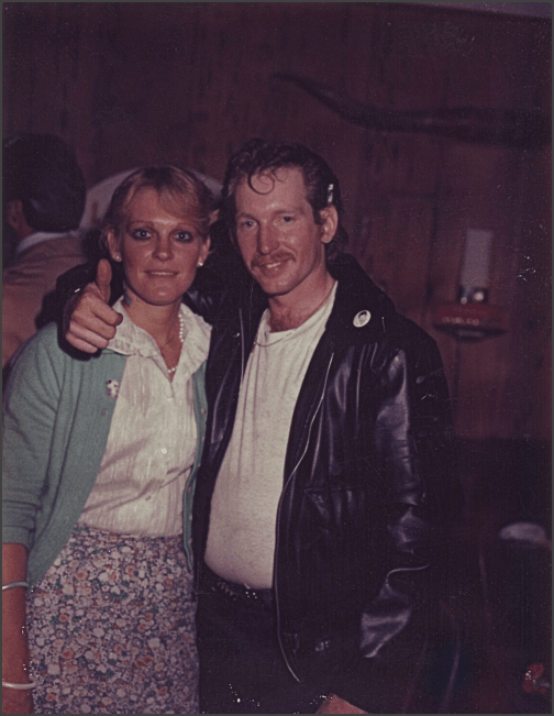 Sonny and Valerie Brown at a 1950's night in Brentwood, Ca. circa 1984