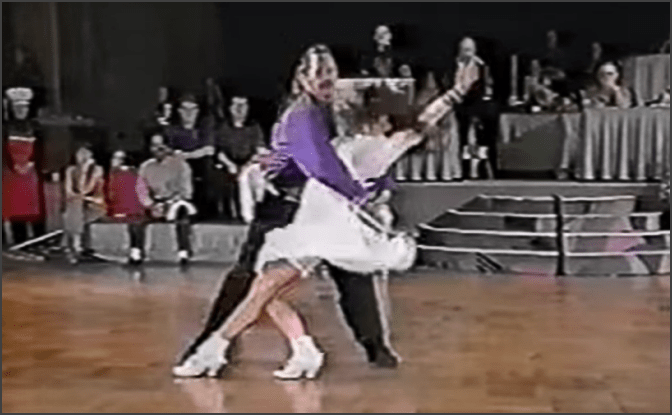 circa 1995. US Open Swing Dance Championships and Kris Hagerty