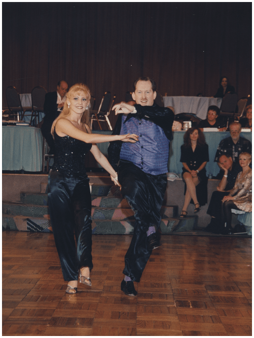 Sonny Watson and Deanna Mollmann 1997 US Open - First Place