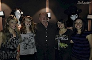 A night out at 'Delusion' in Hollywood, Ca. 2014 with Denise, Kelly, Tara and Jessica, (also Tanin, Derek, and Kevin)