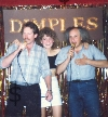 Dimples Kareoke Bar in Burbank - Swing Night