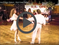 Sonny Watson & Tracy Adams US Open Video Clip