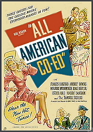 All American Co-Ed DVD