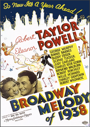 Broadway Melody of 1938 DVD