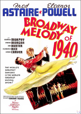 Broadway Melody of 1940 DVD