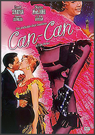 The Can-Can DVD