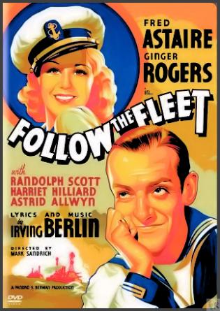 Follow the Fleet DVD