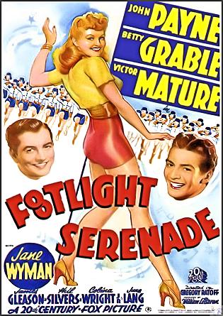 Footlight Serenade DVD