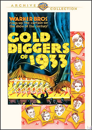 Gold Diggers of 1933 DVD