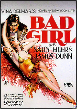 Bad Girl DVD (actually a good girl, weird title for this film but it's good)
