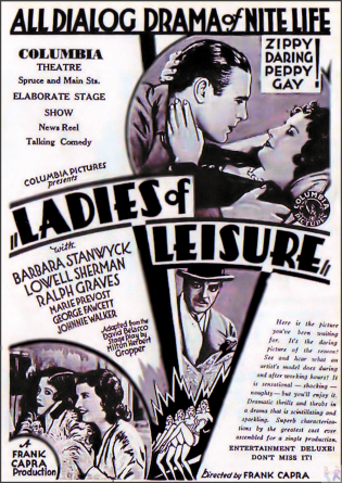 Ladies of Leisure DVD