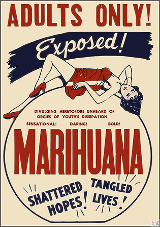 Marihuana Menace DVD (aka: Reefer Madness)