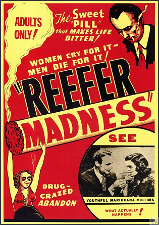 Reefer Madness DVD (aka: Marihuana Menace)