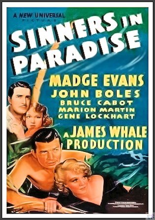 Sinners In Paradise DVD