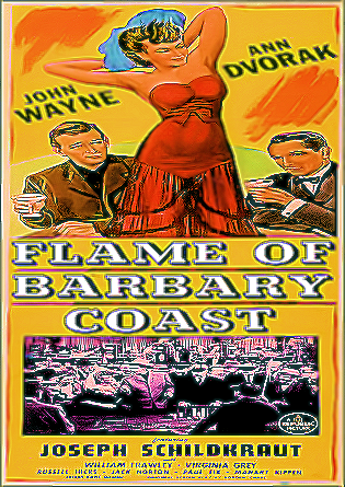 Flame Of The Barbary Coast DVD