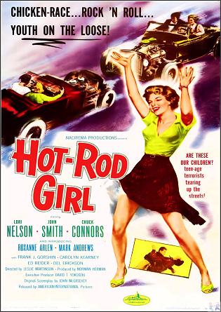 Hot Rod Girl DVD