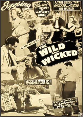 Wild and the Wicked DVD (aka: The Flesh Merchant)