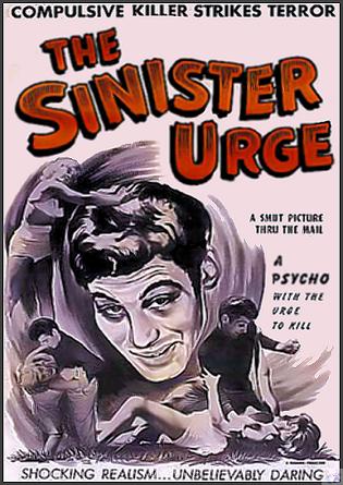 Sinister Urge DVD
