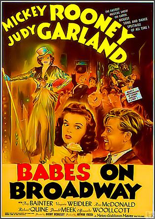 Babes On Broadway DVD