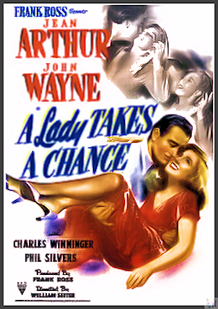 A Lady Takes A Chance DVD