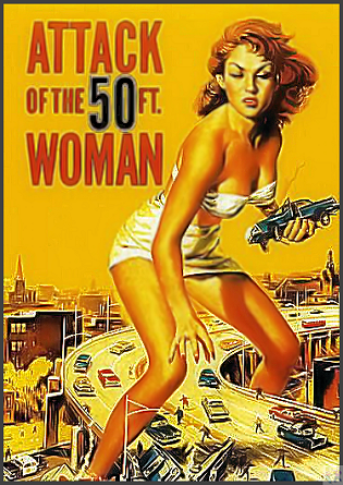 Attack of the 50' Woman DVD