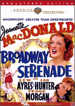 Broadway Serenade DVD