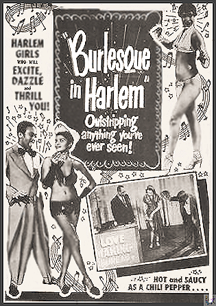 Burlesque in Harlem DVD