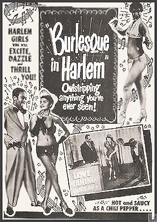 Burlesque in Harlem DVD